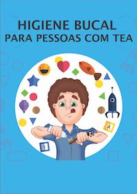 Capa da cartilha sobre saúde bucal para autistas - Tismoo