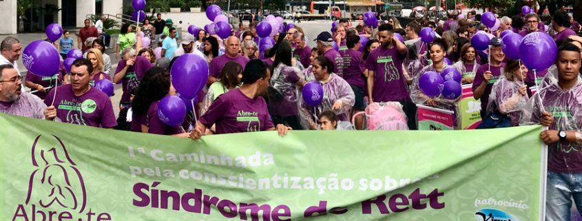 Primeira Caminhada pela Síndrome de Rett no Brasil, av, Paulista, São Paulo - Tismoo