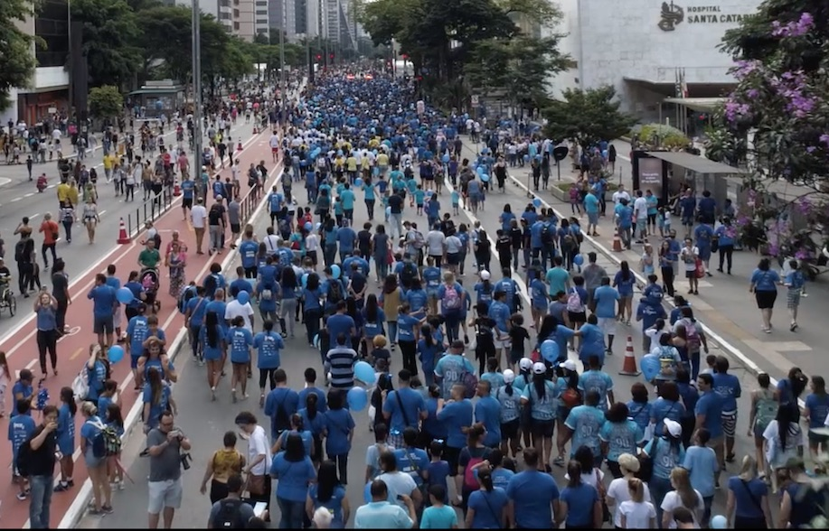 Caminhada pelo Dia Mundial do Autismo na Av. Paulista — Tismoo