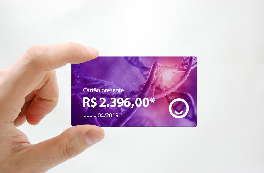 Cartão presente com crédito da Promoção Semana do Autismo 2019 — Tismoo