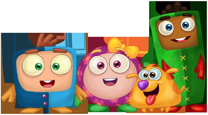 Personagens infantis com autismo — Auts — Tismoo