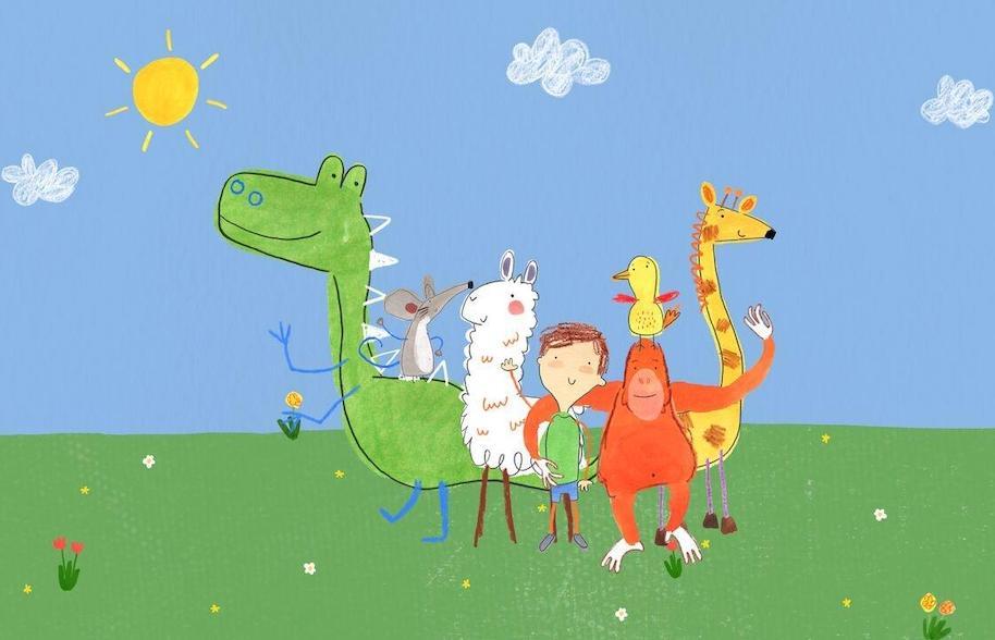 Personagens infantis com autismo — Pablo — Tismoo