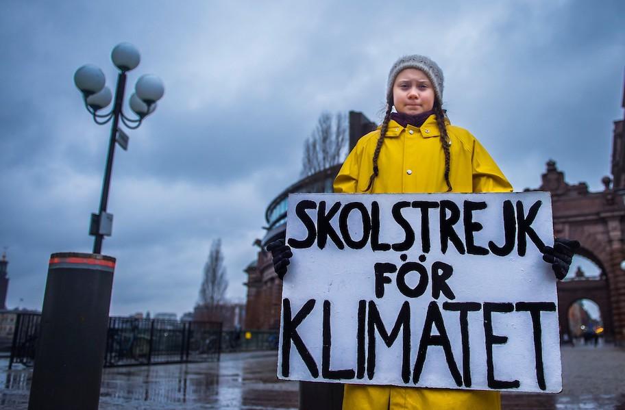 Indicada ao Nobel da Paz, autista luta contra mudanças climáticas: Greta Thunberg — Tismoo