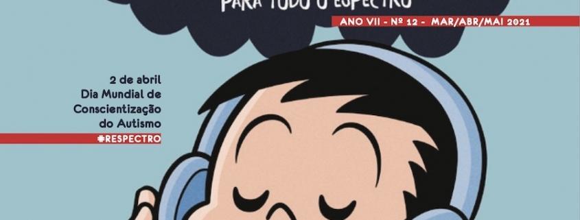 André é capa da Revista Autismo do '2 de abril' — Tismoo