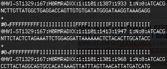 Arquivo FASTQ de dados biológicos de sequenciamento genético para reanálise de exoma ou genoma— Tismoo